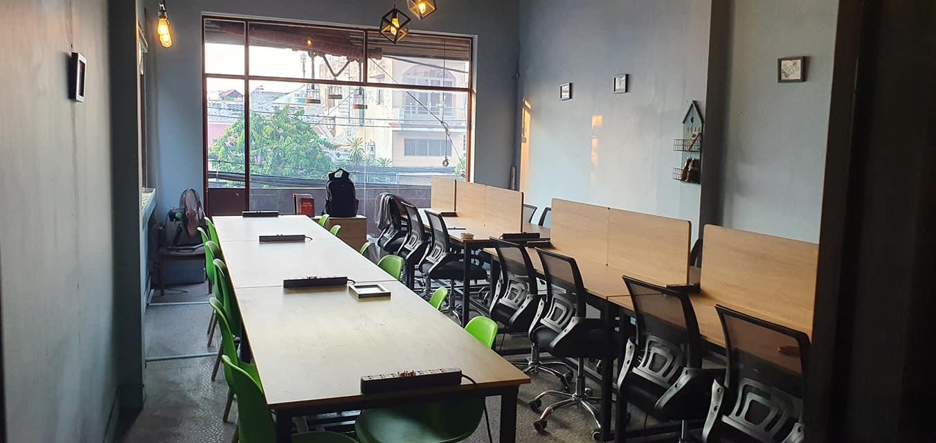 Văn phòng chia sẻ dành cho 8-30 người ngồi